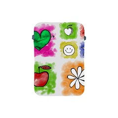 A Set Of Watercolour Icons Apple Ipad Mini Protective Soft Cases