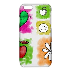 A Set Of Watercolour Icons iPhone 6/6S TPU Case