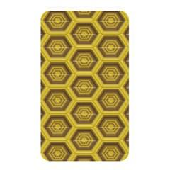 Golden 3d Hexagon Background Memory Card Reader
