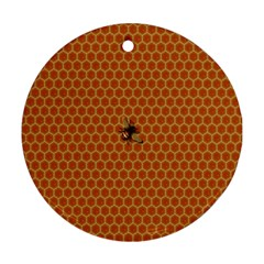 The Lonely Bee Ornament (Round)