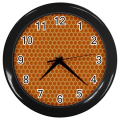 The Lonely Bee Wall Clocks (black)