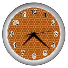 The Lonely Bee Wall Clocks (silver)