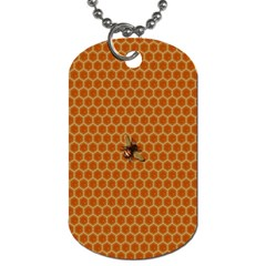The Lonely Bee Dog Tag (Two Sides)