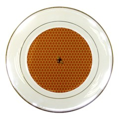 The Lonely Bee Porcelain Plates