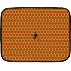 The Lonely Bee Fleece Blanket (mini)