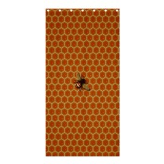 The Lonely Bee Shower Curtain 36  X 72  (stall)