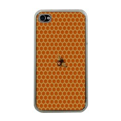 The Lonely Bee Apple Iphone 4 Case (clear)