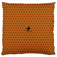 The Lonely Bee Large Cushion Case (one Side)