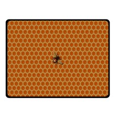 The Lonely Bee Double Sided Fleece Blanket (small)