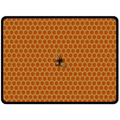 The Lonely Bee Double Sided Fleece Blanket (large)