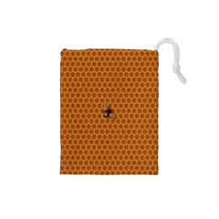 The Lonely Bee Drawstring Pouches (small)