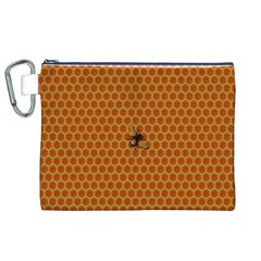 The Lonely Bee Canvas Cosmetic Bag (xl)