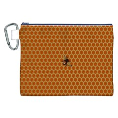 The Lonely Bee Canvas Cosmetic Bag (xxl)