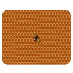 The Lonely Bee Double Sided Flano Blanket (medium)