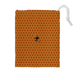 The Lonely Bee Drawstring Pouches (extra Large)