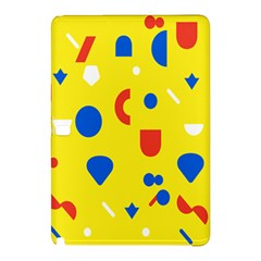 Circle Triangle Red Blue Yellow White Sign Samsung Galaxy Tab Pro 12 2 Hardshell Case