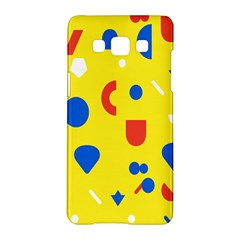 Circle Triangle Red Blue Yellow White Sign Samsung Galaxy A5 Hardshell Case