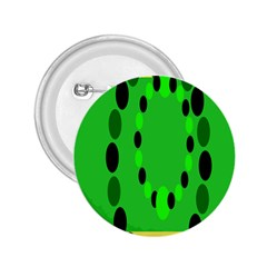 Circular Dot Selections Green Yellow Black 2 25  Buttons