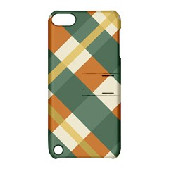 Autumn Plaid Apple Ipod Touch 5 Hardshell Case With Stand
