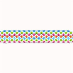 Colorful Floral Seamless Red Blue Green Pink Small Bar Mats