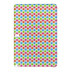 Colorful Floral Seamless Red Blue Green Pink Samsung Galaxy Tab Pro 12.2 Hardshell Case
