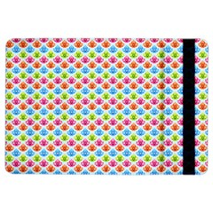 Colorful Floral Seamless Red Blue Green Pink Ipad Air 2 Flip