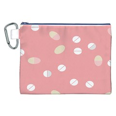 Drug Pink Canvas Cosmetic Bag (XXL)