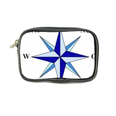 Compass Blue Star Coin Purse