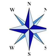 Compass Blue Star 5 5  X 8 5  Notebooks