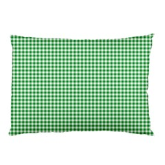 Green Tablecloth Plaid Line Pillow Case (two Sides)