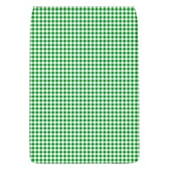 Green Tablecloth Plaid Line Flap Covers (L)