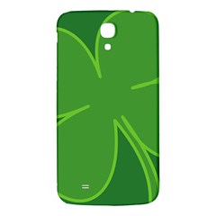 Leaf Clover Green Samsung Galaxy Mega I9200 Hardshell Back Case