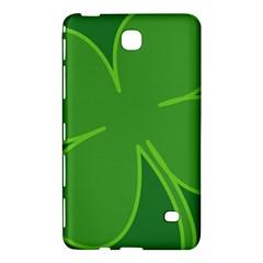 Leaf Clover Green Samsung Galaxy Tab 4 (7 ) Hardshell Case
