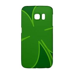 Leaf Clover Green Galaxy S6 Edge