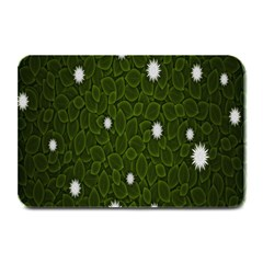 Graphics Green Leaves Star White Floral Sunflower Plate Mats