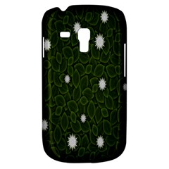 Graphics Green Leaves Star White Floral Sunflower Galaxy S3 Mini