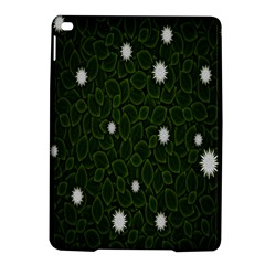 Graphics Green Leaves Star White Floral Sunflower Ipad Air 2 Hardshell Cases