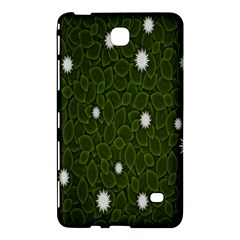 Graphics Green Leaves Star White Floral Sunflower Samsung Galaxy Tab 4 (7 ) Hardshell Case