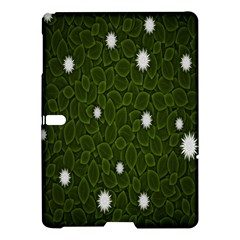 Graphics Green Leaves Star White Floral Sunflower Samsung Galaxy Tab S (10.5 ) Hardshell Case