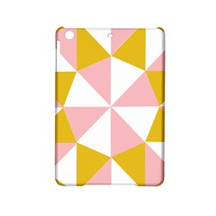 Learning Connection Circle Triangle Pink White Orange iPad Mini 2 Hardshell Cases
