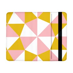 Learning Connection Circle Triangle Pink White Orange Samsung Galaxy Tab Pro 8.4  Flip Case