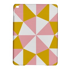 Learning Connection Circle Triangle Pink White Orange iPad Air 2 Hardshell Cases
