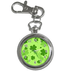 Leaf Clover Green Line Key Chain Watches