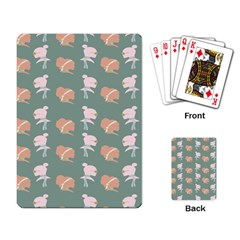Lifestyle Repeat Girl Woman Female Playing Card