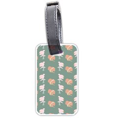 Lifestyle Repeat Girl Woman Female Luggage Tags (one Side)