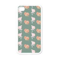 Lifestyle Repeat Girl Woman Female Apple Iphone 4 Case (white)
