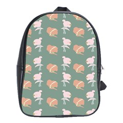 Lifestyle Repeat Girl Woman Female School Bags (xl)