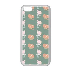 Lifestyle Repeat Girl Woman Female Apple iPhone 5C Seamless Case (White)