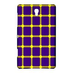 Optical Illusions Circle Line Yellow Blue Samsung Galaxy Tab S (8 4 ) Hardshell Case