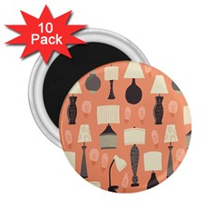 Lamps 2 25  Magnets (10 Pack)
